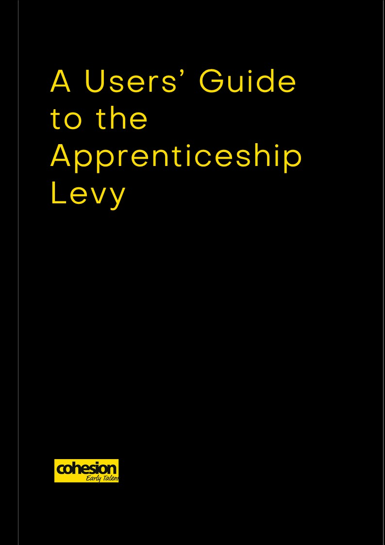 A Users' Guide to the Apprenticeship Levy