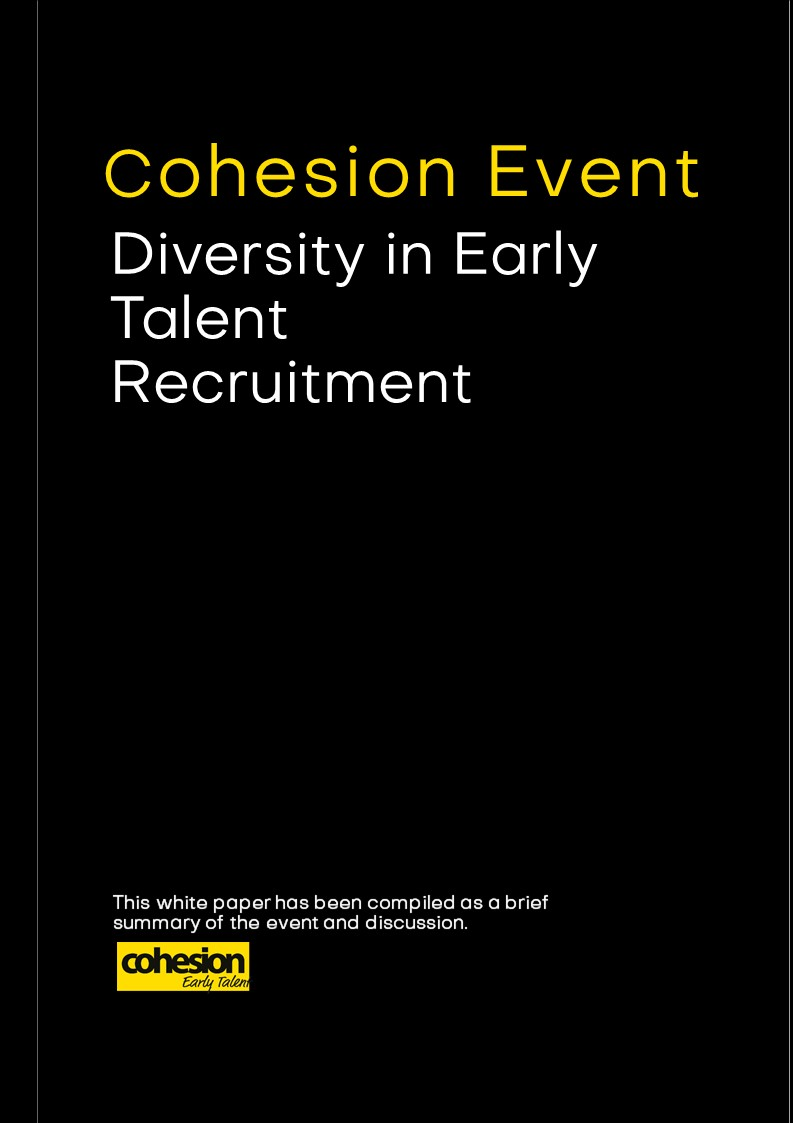 Diversity in Early Talent Recruitment