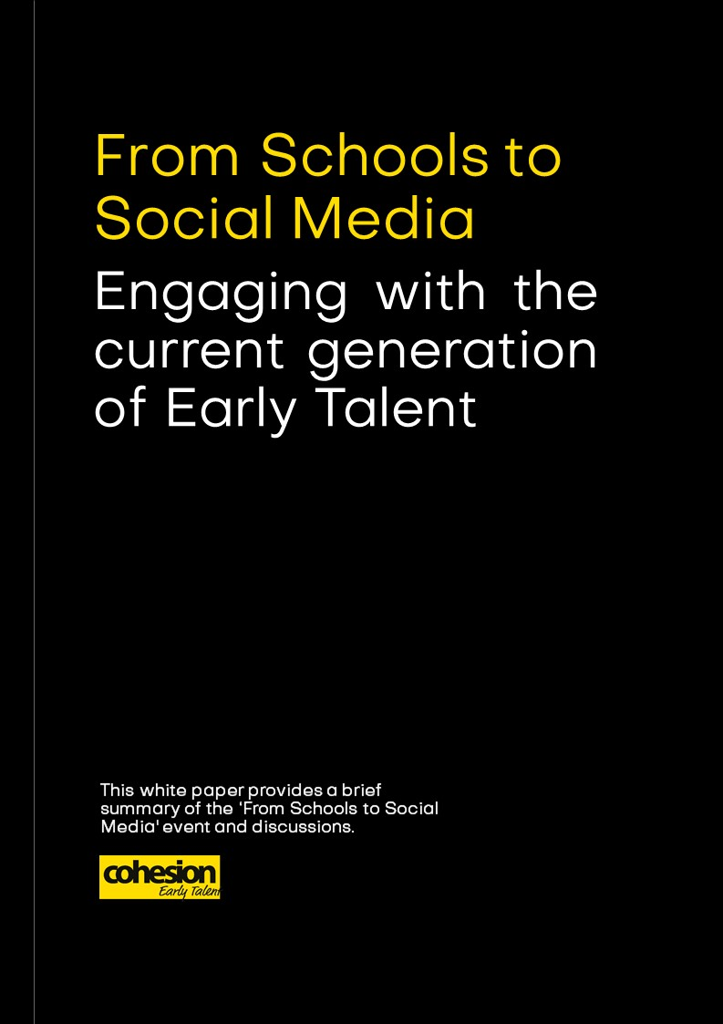 From Schools to Social Media – Engaging with Early Talent